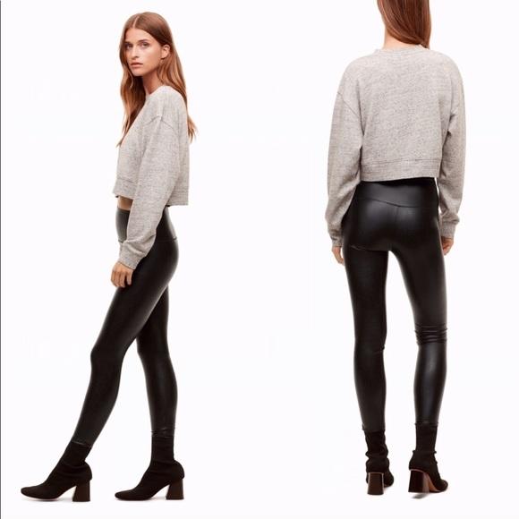 94210ef116391 Wilfred Pants | Aritzia Free Daria Legging Faux Leather | Poshmark